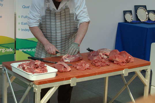 Meat shropshire butcher contest west mid show