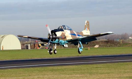 t28 at the cosford air show